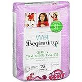 Well Beginnings Premium Training Pants Girl, 3T-4T