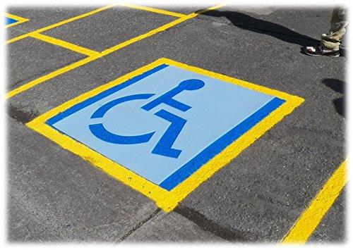 ADA - Standard Handicap Stencil, 39