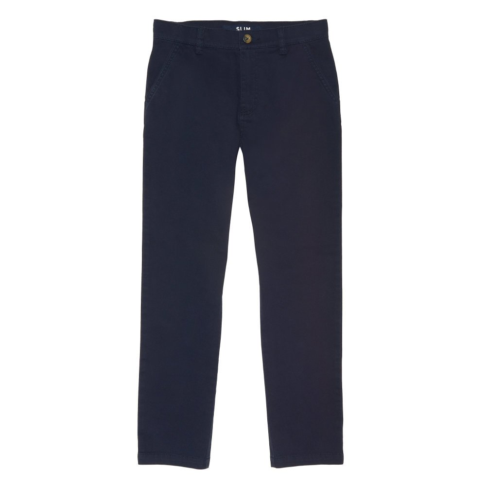 French Toast Boys Slim Fit Stretch Chino Pant LK2080