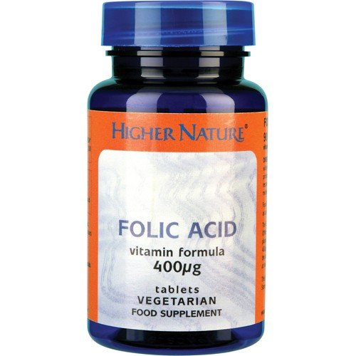 (10 PACK) - Higher Nature - Folic Acid | 90's | 10 PACK BUNDLE by Higher Nature