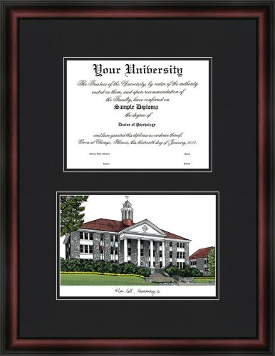 (Campus Images VA994D James Madison University Diplomate Diploma Frame, 12