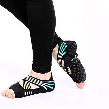 Zapatos de Yoga para Mujeres, sin Calzado, Antideslizantes ...