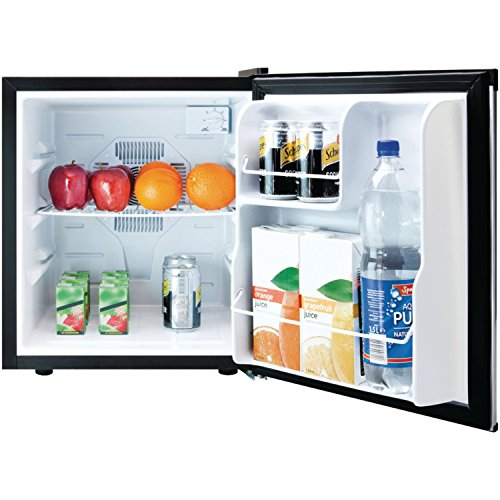 Culinair Af100s 1.7-Cubic Foot Compact Refrigerator, Silver and Black by Culinair (Image #4)