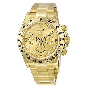 superior quality e5c1f 6421f Amazon | Rolexデイトナシャンパンクロノグラフ18 kt黄色 ...