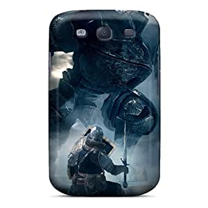 Durable Protector Case Cover With Dark Souls Elite Knight Fighting Iron Golem Hot Design For Galaxy S3