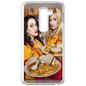 2 Broke Girls LG G2 White Christmas Gifts&Gift Attractive Phone Case KHUAA522651