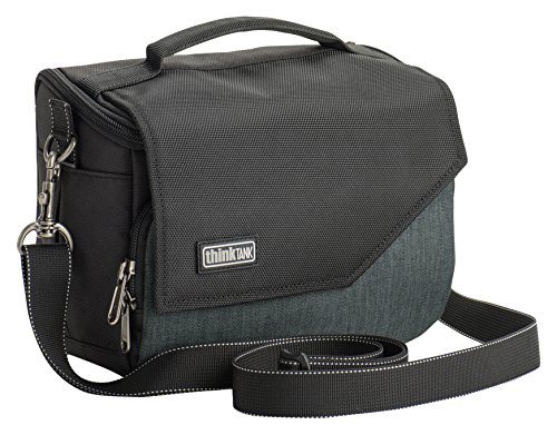 Think Tank Mirrorless Mover 20 Shoulder Bag for Mirrorless Body Camera with 2-3 Lenses, Pewter by Think Tank Photo