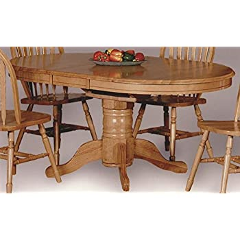 Amazoncom Drop Leaf Dining Table In Light Oak Finish Tables - Light oak dining table