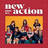 Gugudan[ACT.5 New Action]3rd Mini Album CD+56p Booklet+1p PhotoCard+1p Sticker+1p Post+Free Tracking