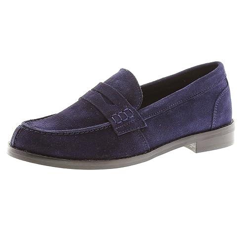 CLARYS Zapato de Comunión Tipo Mocasín 5925 Azul: Amazon.es: Zapatos y complementos