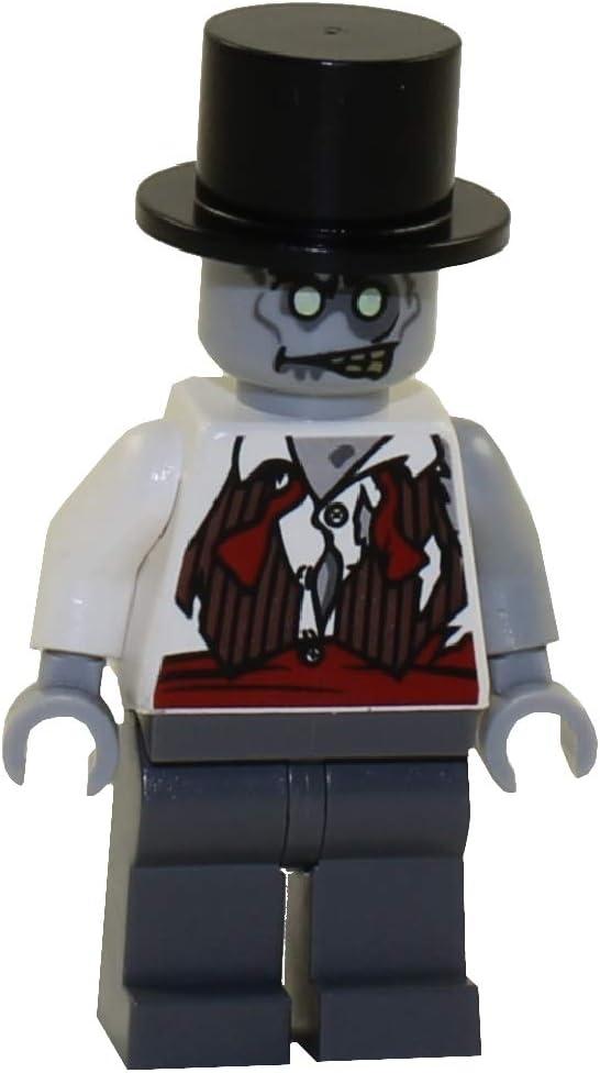 Lego Zombie Bride Minifigure With Flowers