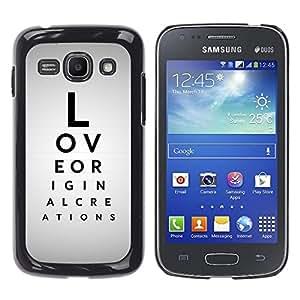 Stuss Case / Funda Carcasa protectora - Love Message - Samsung Galaxy Ace 3