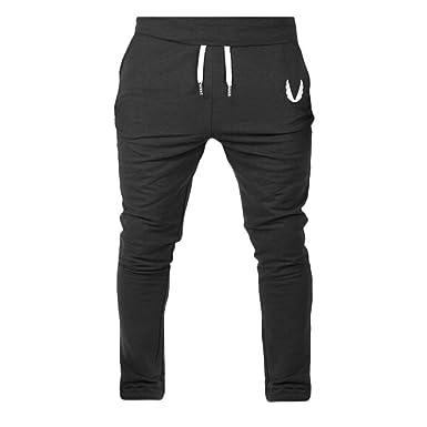 478e3b283f2 Amazon.com  COOKI Mens Joggers Sweatpants Men Active Sports Running Workout  Pants Elastic Fitness Joggers Sweatpants Pockets