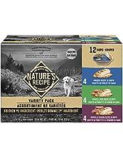 Nature's Recipe Chicken, Chicken & Duck, Chicken & Venison Variety Pack 936G 12PK