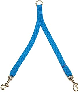 product image for Mendota Pet 2 Dog Coupler - Dog Leash - Made in The USA - Blue, 9/16 in x 24 in