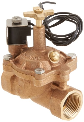 Zodiac 1in. Brass Valve, 24V Solenoid with Flow Control