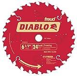 framing blades 10pack - Freud D0624X Diablo 6-1/2-inch 24 Tooth ATB Framing TiCO Saw Blades, 10-Pack