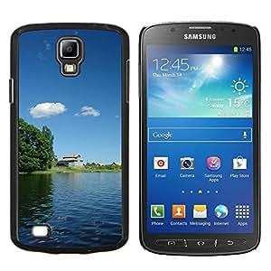 YiPhone /// Prima de resorte delgada de la cubierta del caso de Shell Armor - Pintura de paisaje chino - Samsung Galaxy S4 Active i9295