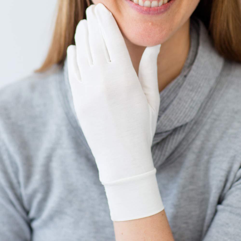 bamboo eczema gloves - yoro naturals