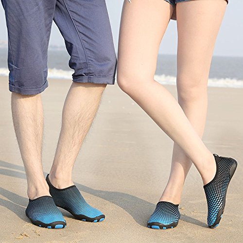 Schuhchan Barefoot Sports for Azul Surf Shoes Dry Water Men 38 Pool Aqua Quick Beach Women Black Yoga gg4xEArCq