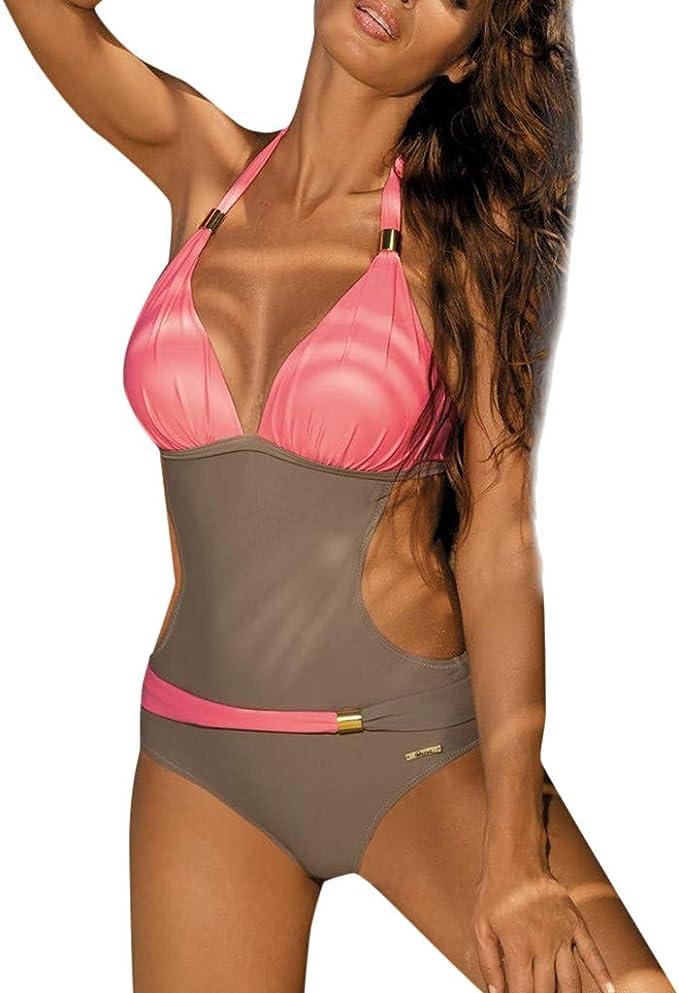 Bikini Donna Mare Due Pezzi Plaid Vita Bassa Costume Da Bagno Sexy Costumi Da Bagno Due Pezzi Piscina Donna Alla Moda Amazon It Abbigliamento