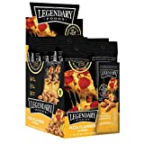Legendary Foods Seasoned Almonds | Keto Friendly, Low Carb, Good Protein & Fat | Pizza Flavored (1.25oz, Pack of 12)