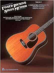 Amazon.com: Hal Leonard Guitar Finger Picking Solos Method