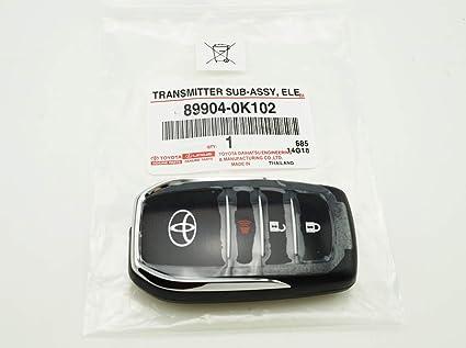Amazon.com: 89904-0K102 Toyota HILUX REVO 2015-17 Smart Key ...