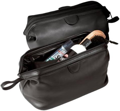 Black MQT Traditional Toiletry Bag