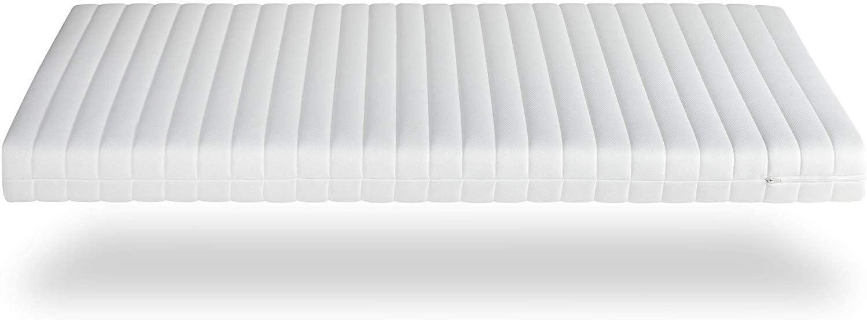 180 x 200 cm, H2 /& H3 Tr/äumegut 12 Orthop/ädische 7-Zonen Kaltschaummatratze /ÖkoTex Rollmatratze Microfaserbezug Matratze H/ärtegrad H2 /& H3