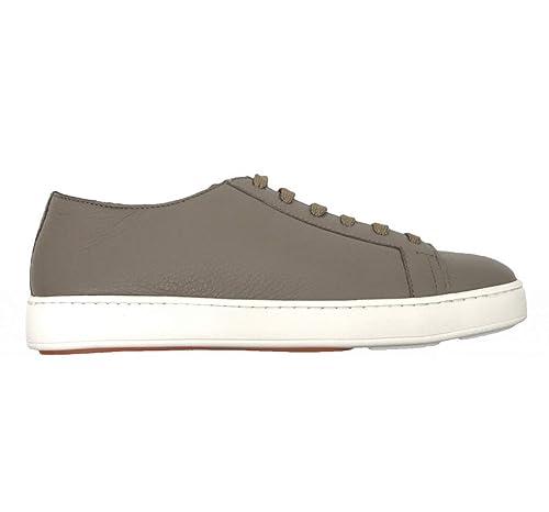 a1f05f9914 SANTONI Scarpe Sneakers Tennis Fango Pelle: Amazon.it: Scarpe e borse