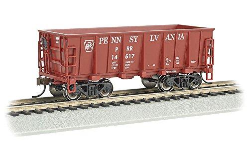 Bachmann Industries #14517 Pennsylvania Tuscan Red Ore Car (HO Scale Train)