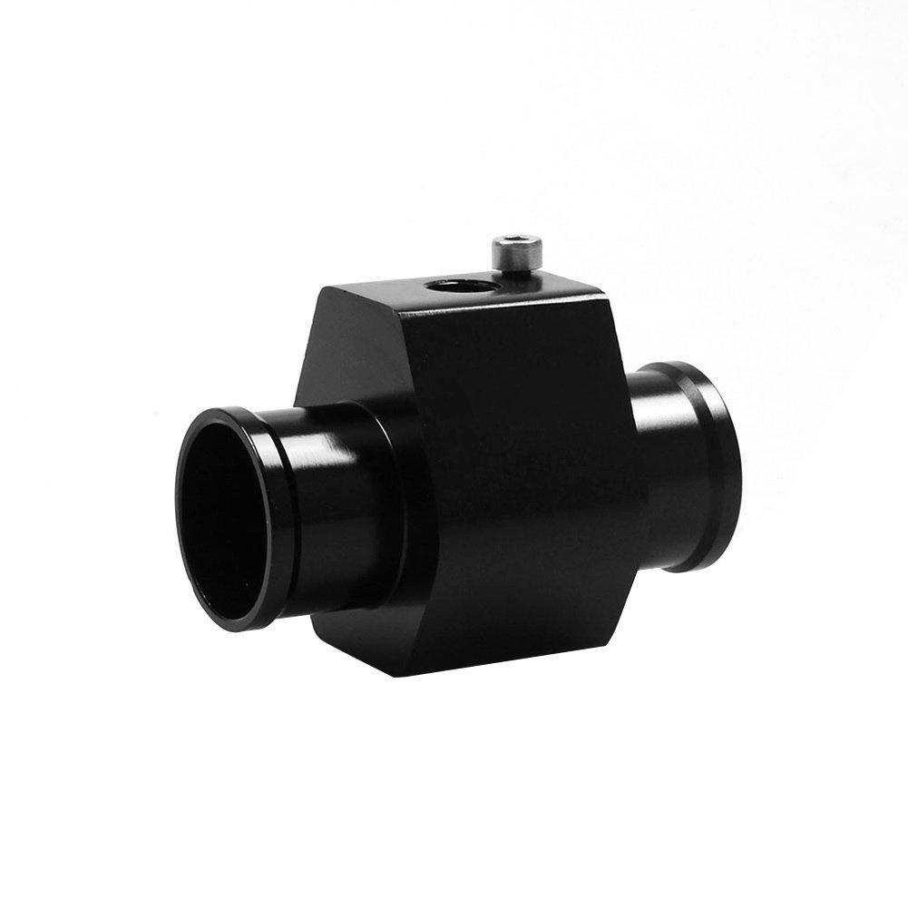 Rokoo 28mm-40mm Wassertemperatur Meter Racing Kü hlerschlauch Sensor Adapter Aluminium Auto Temperaturanzeige Joint Rohr Mit 2 klemmen