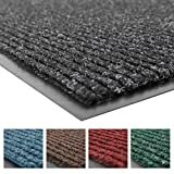 Notrax 109 Brush Step Entrance Mat, For Home or Office, 3' X 10' Charcoal