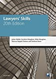 Lawyers' Skills (Blackstone Legal Practice Course Guide)