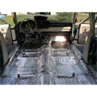 Hushmat 599001 Sound and Thermal Insulation Kit (2015 Sprinter 2500 - Cabin Firewall/Floor Pan)