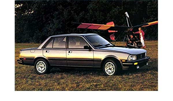 1986 Peugeot 505 Turbo ORIGINAL Factory Postcard at Amazons Entertainment Collectibles Store