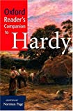 Oxford Reader's Companion to Hardy, , 019860419X