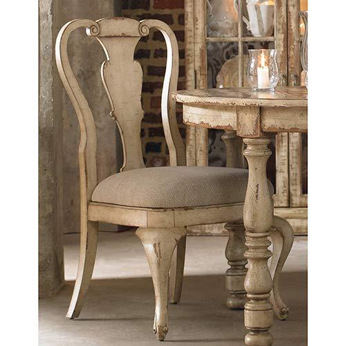 Hooker Furniture Wakefield White Splatback Dining Chair by Hooker Furniture