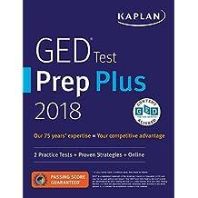 GED Test Prep Plus 2018: 2 Practice Tests + Proven Strategies + Online