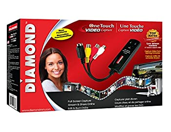 Diamond Vc500 Usb 2.0 One Touch Vhs To Dvd Video Capture Device With Easy To Use Software, Convert, Edit & Save To Digital Files For Win7, Win8 & Win10 20