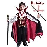 Spooktacular Creations Vampire Boy Costume (Small)