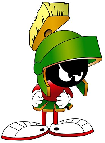 """Marvin the Martian Decal 5"""""""