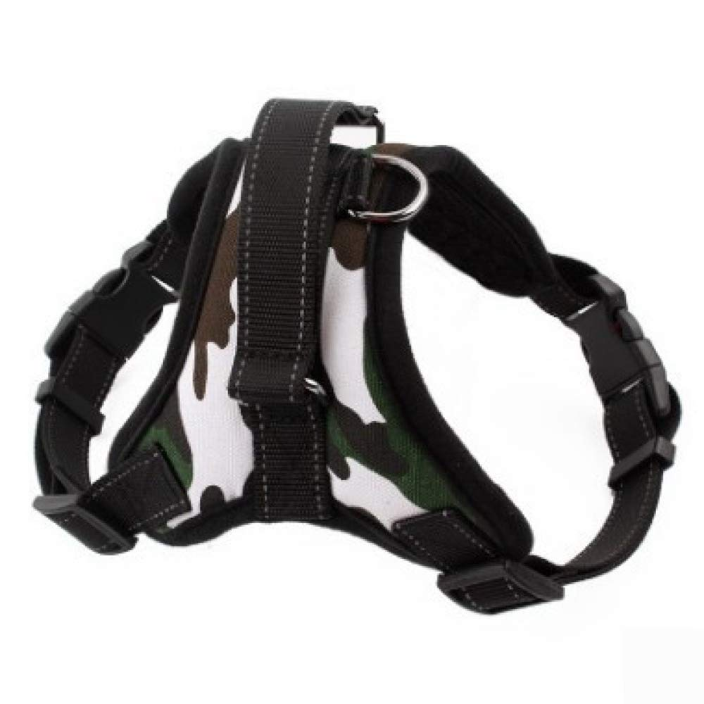 A Large A Large Ambiguity Vest Harness,Medium and Large Dog Traction Rope pet Chest Strap Dog Chain