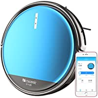 Proscenic 811GB Robot Vacuum Cleaner, Robotic Vacuum Cleaner with APP and Alexa Control, Boundary Magnetic Marker, Electric Control Water Tank(3 speeds) & Slim Design for Hard Floors and Carpets