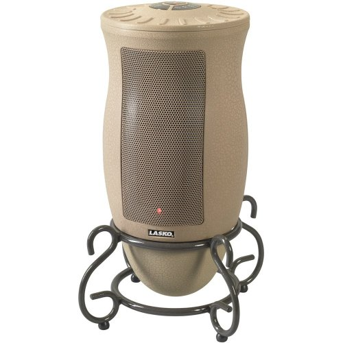 Lasko 6435 Thermostat-Controlled Ceramic Heater with Remote Ceramic Heaters Lasko