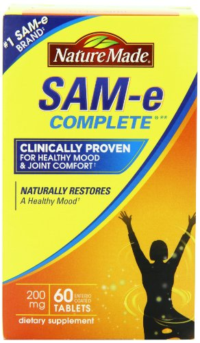 Naturaleza tamaño valor de SAM-e MoodPlus 200mg, 60 comprimidos