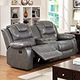 Furniture of America Steely 2-Recliner Love Seat Review