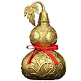 ARAYACY Copper Gourd Ornaments Home Decoration Lucky Copper Crafts Decorations