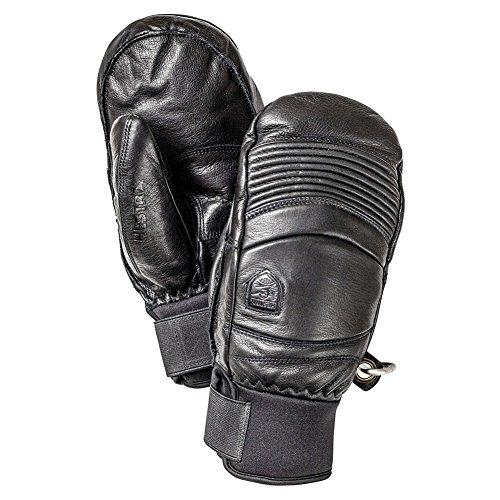 Hestra Leather Fall Line Mitt Black Gloves 10 by Hestra